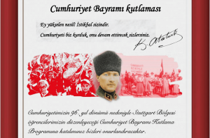 29 Ekim Cumhuriyet Bayramı büyük coşkuyla kutlandı